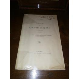 Fouilles au Fort-harrouard (1909-1910) par Abbé J.Philippe archéologie éléments gallo-romains en eure et loir