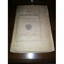 Mémoires du président Bigot de Monville sur la sédition des nu-pieds  par le Vicomte d'Estaintot