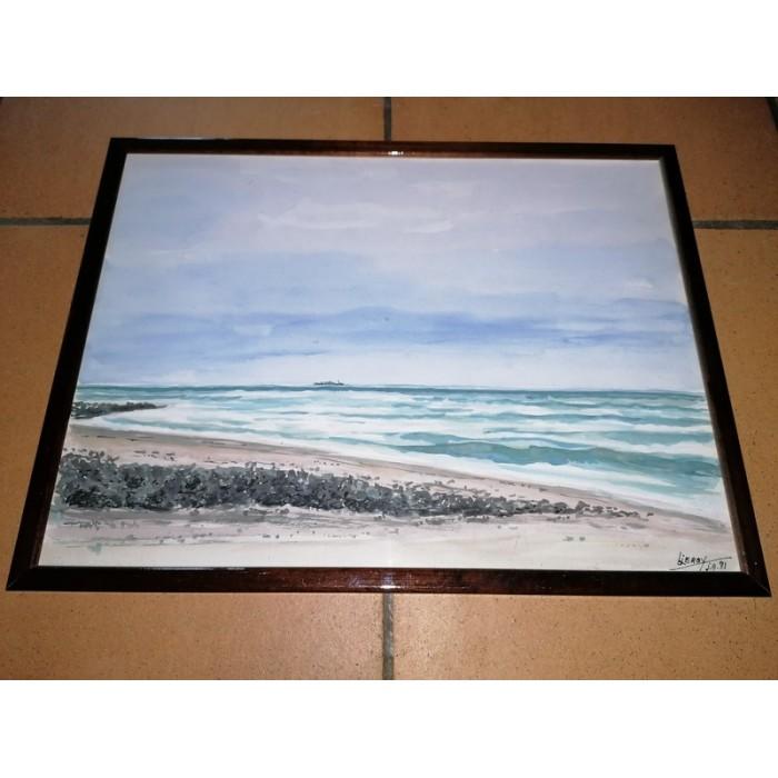 Aquarelle par jean Leroy