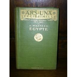 Histoire générale de l'Art Egypte par Maspero édition originale