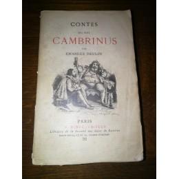 Contes du Roi Cambrinus par Charles Deulin