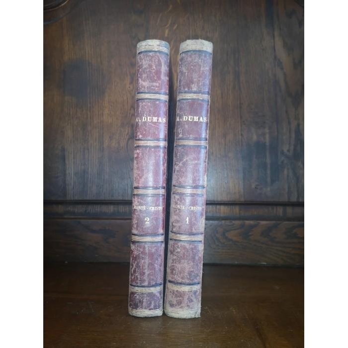 Le Comte de Monte cristo par M. Alexandre Dumas 2 Tomes Complet