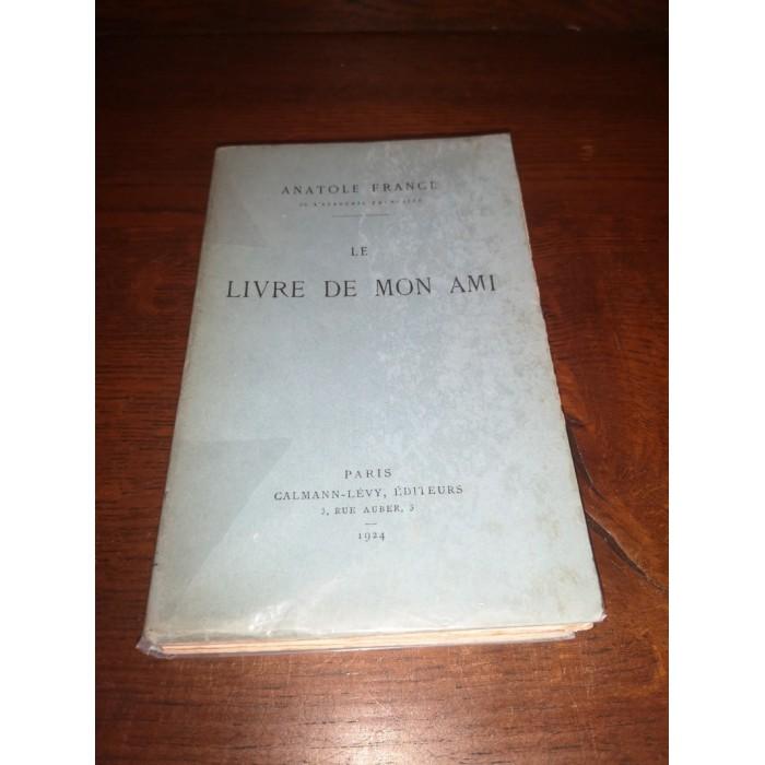 Le livre de mon ami par Anatole France