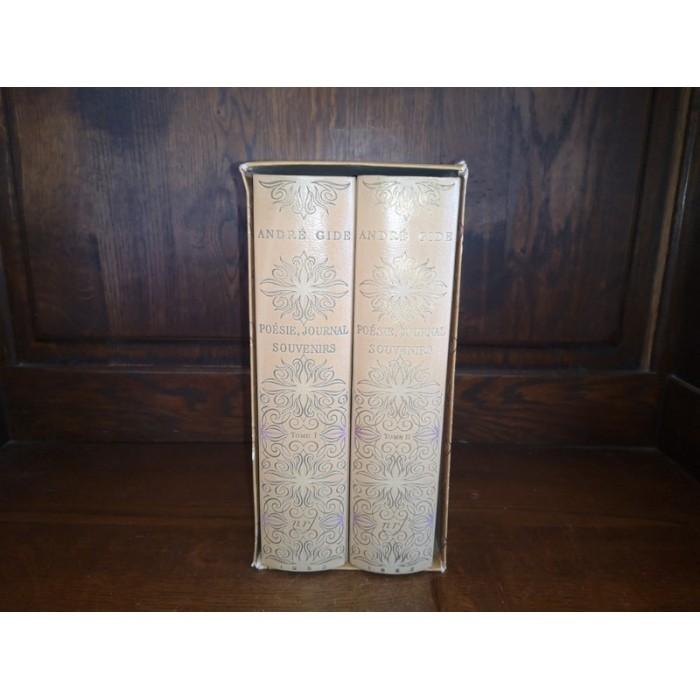 Poésie, Journal, Souvenirs par andré Gide Edition illustrée par Brayer, A. Dunoyer de Segonzac Eition Numérotée