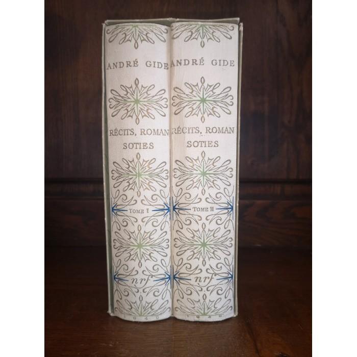 Récits, Roman, Soties Par andré Gide Edition illustrée par Brayer et A. Dunoyer de Segonzac Edition Numérotée