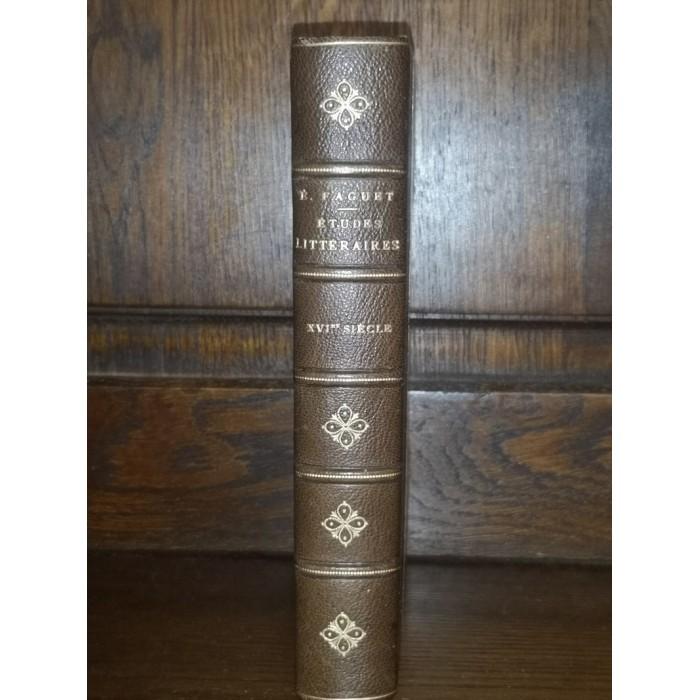 Seizième siècle études Littéraires par émile Faguet