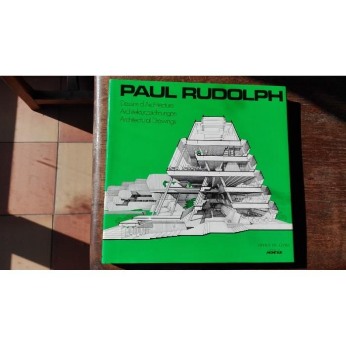 Dessins d'architecture de paul Rudolph