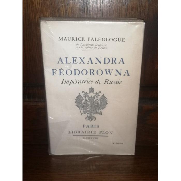 Alexandra Feodorowna Impératrice de russie par Maurice Paléologue