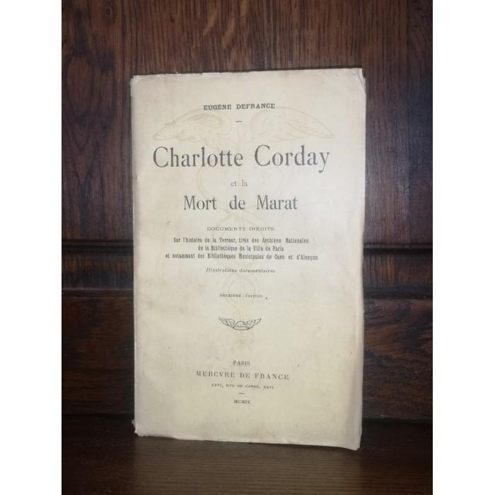 Charlotte Corday et la mort de Marat par Eugène Defrance