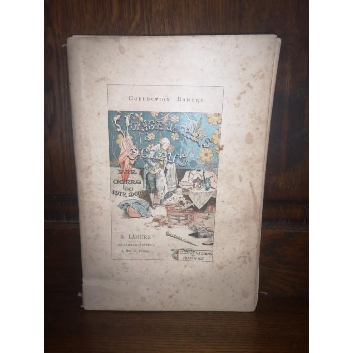 Voyage de Paris à Saint-Cloud par mer et retour de Saint-Cloud à Paris par terre par Néel Edition à faible Tirage
