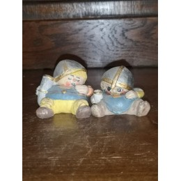 Candy Design Norway 2 Vikings Figurines