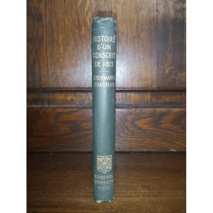 Histoire d'un conscrit de 1813 par Erckmann-Chatrian collection Hetzel Edition unique pour le Royaume Uni