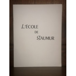 L'école de Saumur  Supplément à la Revue de la cavalerie blindée  N°8  De 12/1954  Par le colonel de cossé-brissac