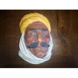 Legend products ou bossons Homme saharien Touareg Tête en plâtre authentique Made in England