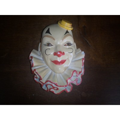 Clown N°2 Legend products Made in england 1983 Tête en plâtre