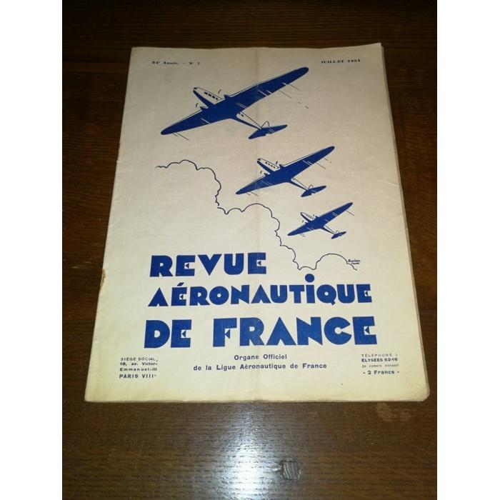 Revue aéronautique de France