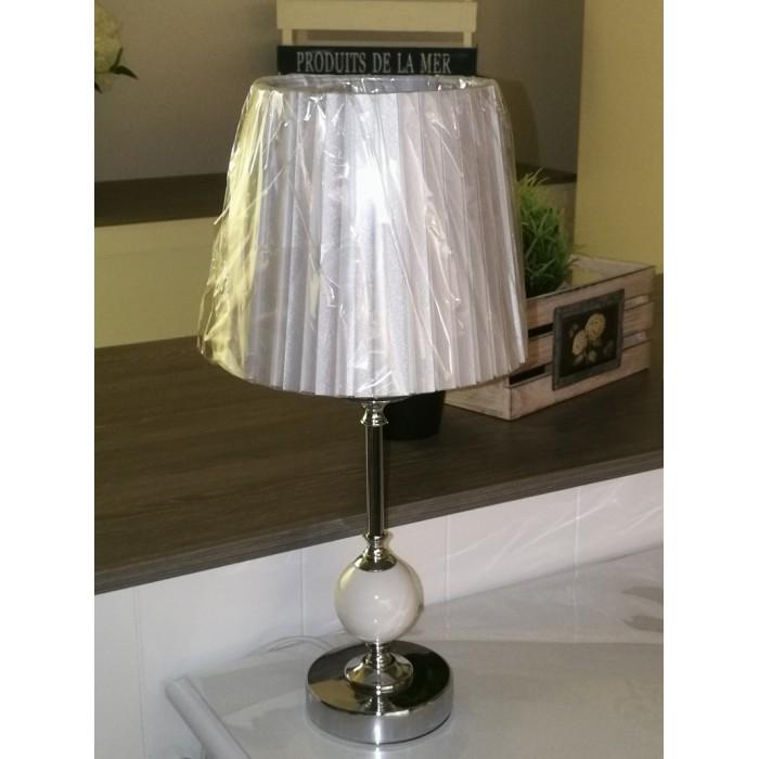 Lampe table bola blanc