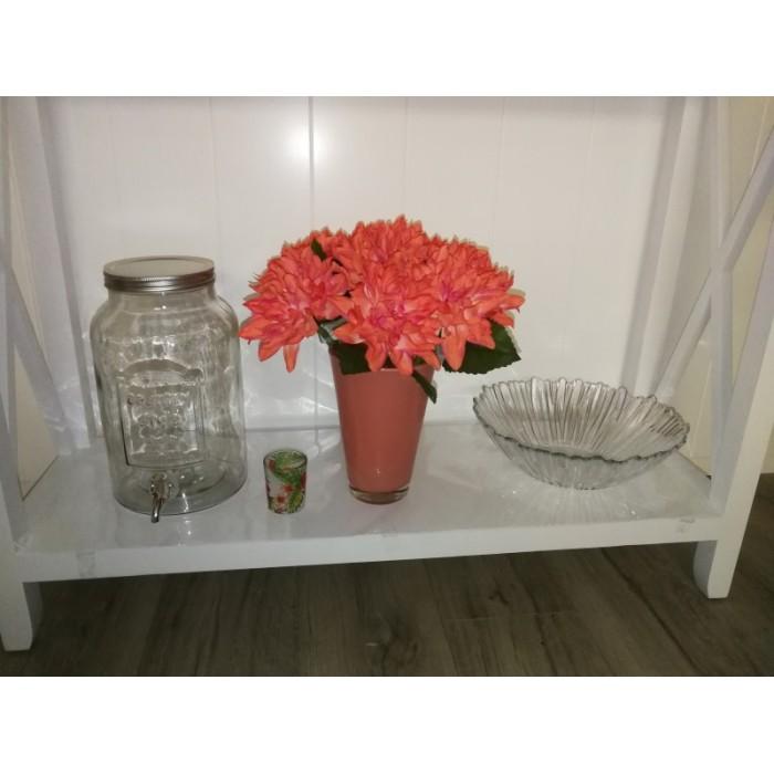 Vase en verre opaque