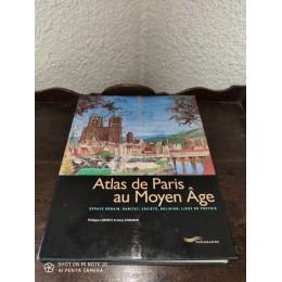 Atlas de Paris au Moyen âge Par philippe Lorentz et dany Sandron