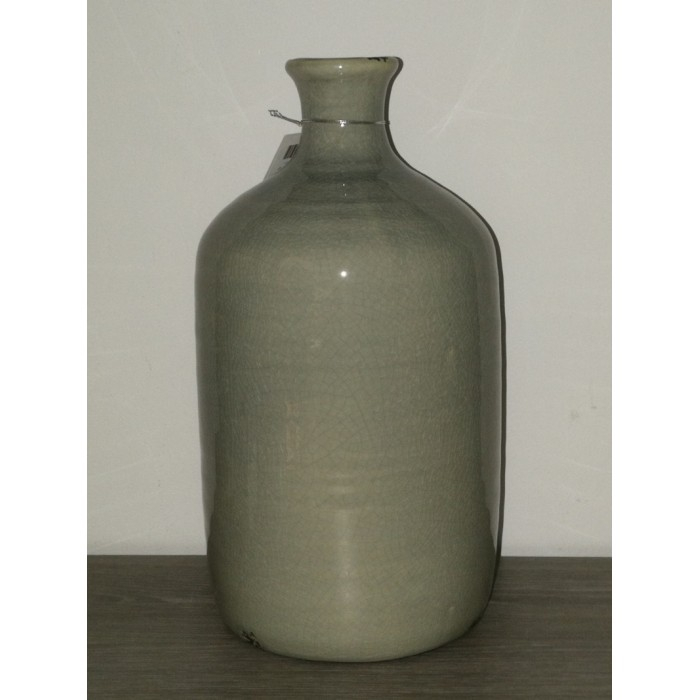 Vase gris arronidie en céramique