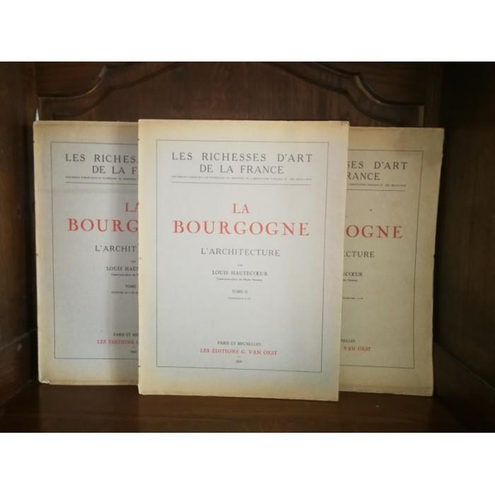 La Bourgogne L'architecture, par Hautecoeur Louis