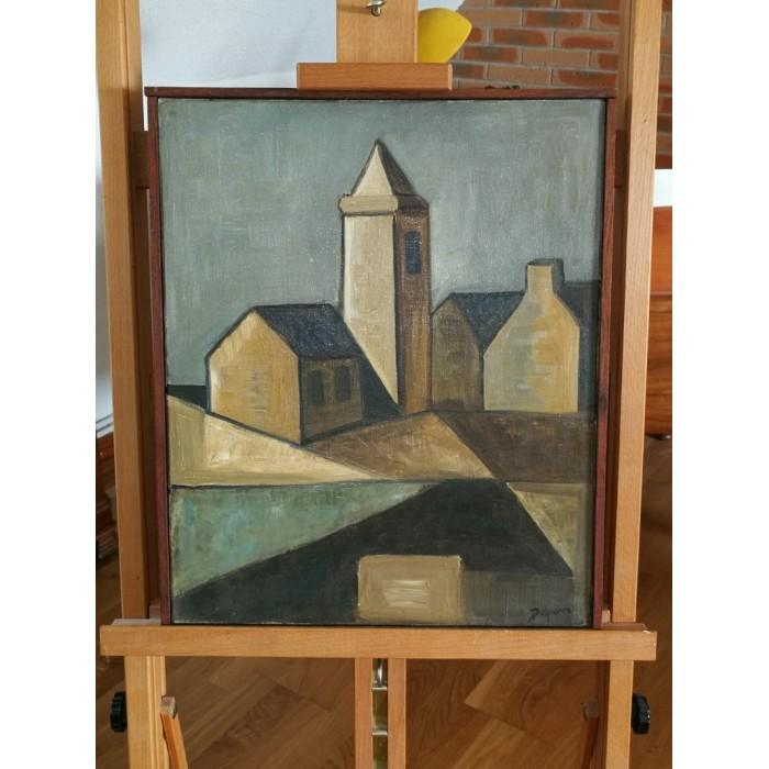 Huile sut toile de Delpierre