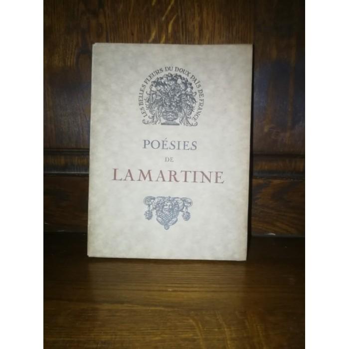 Poésies d'Alphonse de Lamartine