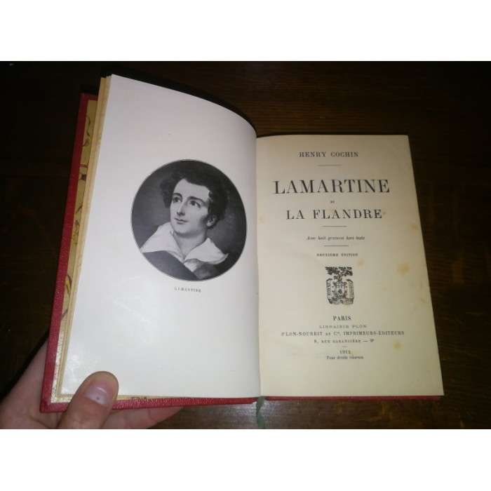 Lamartine et la Flandre par Henry Cochin