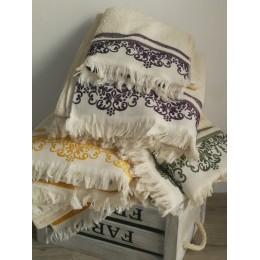 Serviettes, drap douche, drap bain et serviettes invité coton 500 g