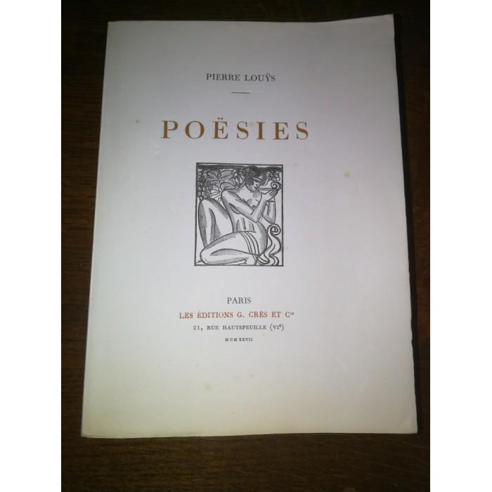 Poésies par Louys Pierre