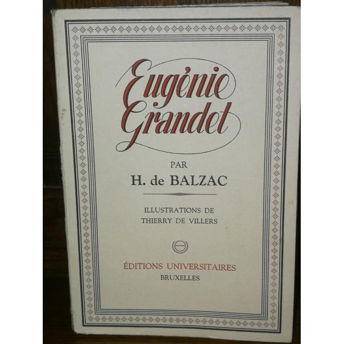 Par Honoré de Balzac, Eugénie Grandet