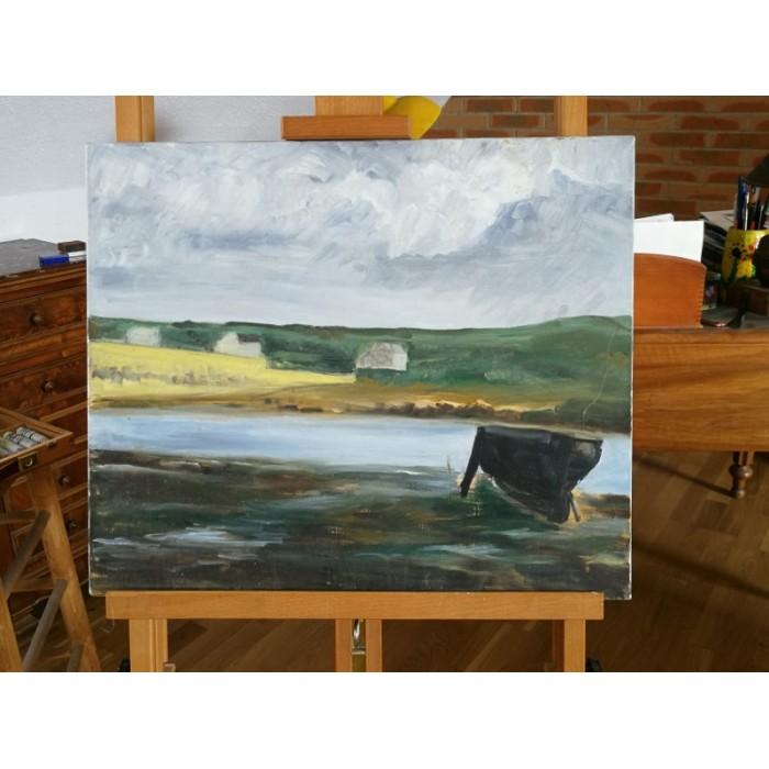 Peinture marine huile sur toile