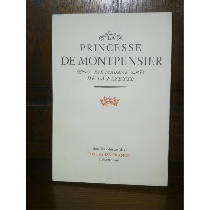 Par Madame de La Fayette, La princesse de Montpensier