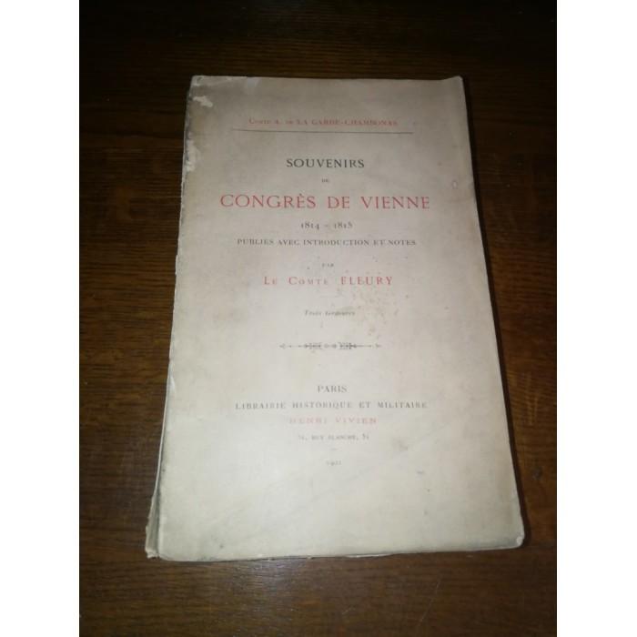 Souvenirs du congrès de Vienne 1814-1815 (Napoléon)
