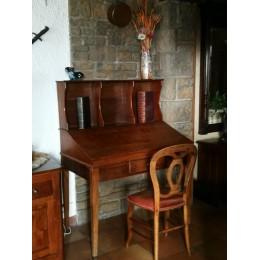 Bureau de pente secrétaire en bois