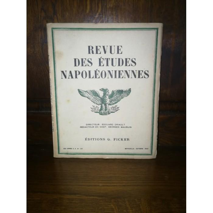 Revues des études napoléoniennes Mensuel