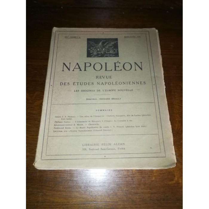 Revues des études napoléoniennes Mensuel (Napoléon, Histoire)