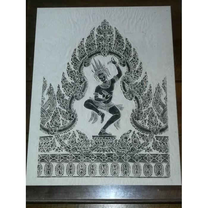 Cadre tableau hindou shiva