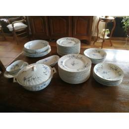 Service en porcelaine de Limoges bernardaud