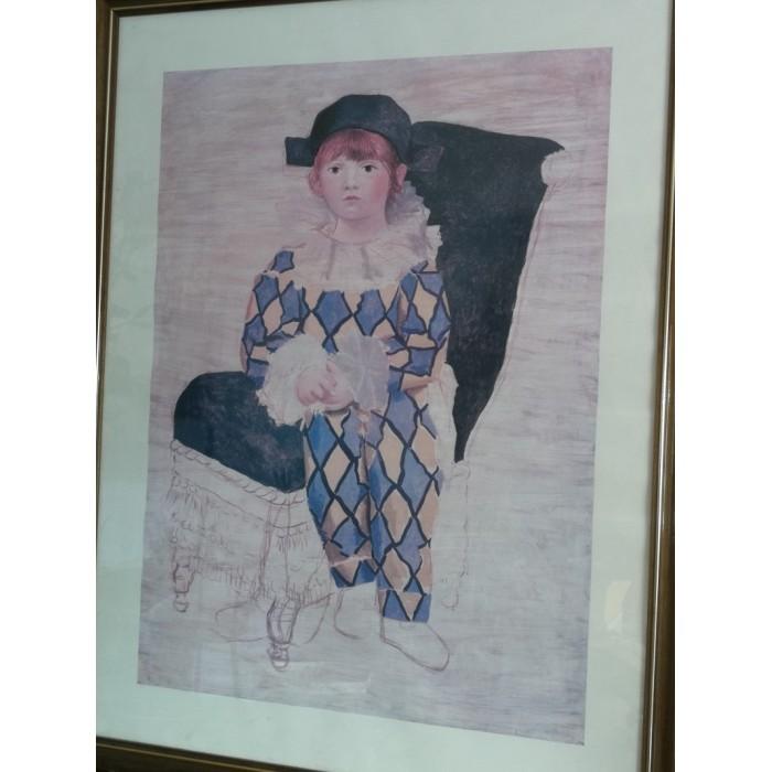 L'Arlequin (paul en) par Picasso