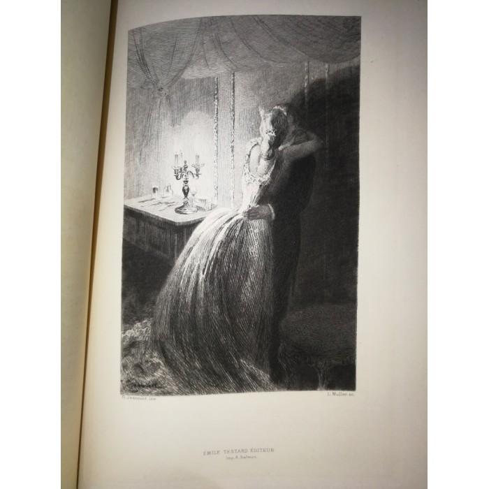 La Curée par E. Zola numéroté sur papier Vélin