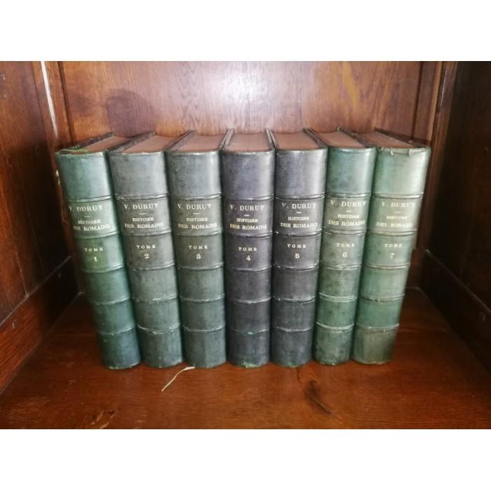 Histoire des romains par Victor Duruy 7 livres complet