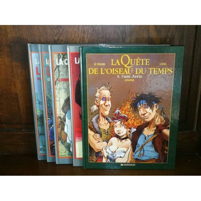 La Quête de l'oiseau du temps par Loisel Collection complète en 5 tomes