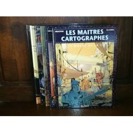 Les Maîtres Cartographes par Arleston et Glaudel Collection complète 6 tomes