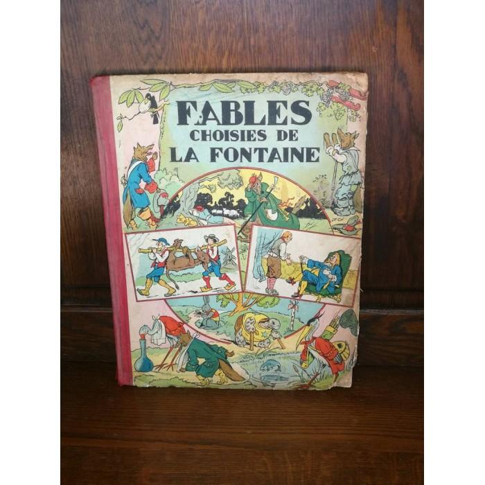 Fables choisies de La Fontaine et Florian