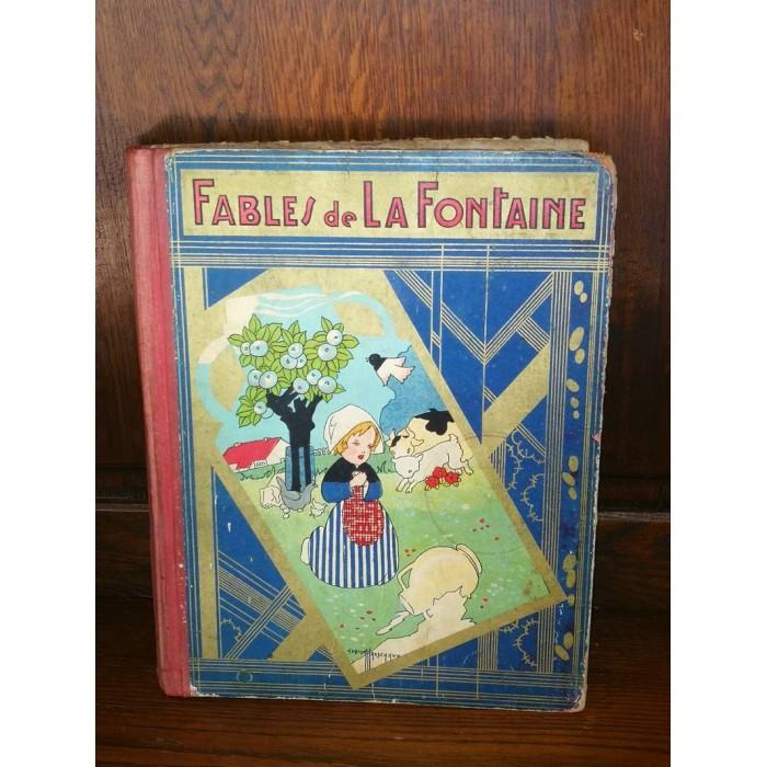 Fables de La Fontaine illustrations par pastor Maréchaux