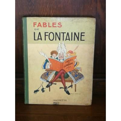 Fables de La Fontaine avec des illustrations par Lorioux Hachette