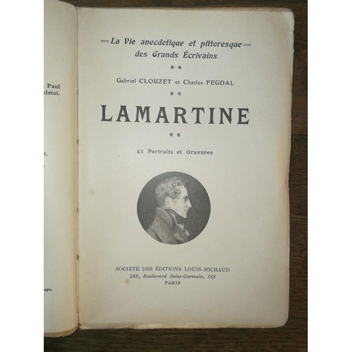 Lamartine par Gabriel Clouzet et Charles Fegdal