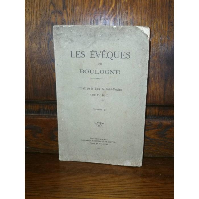 Les evêques de Boulogne 1917-1923