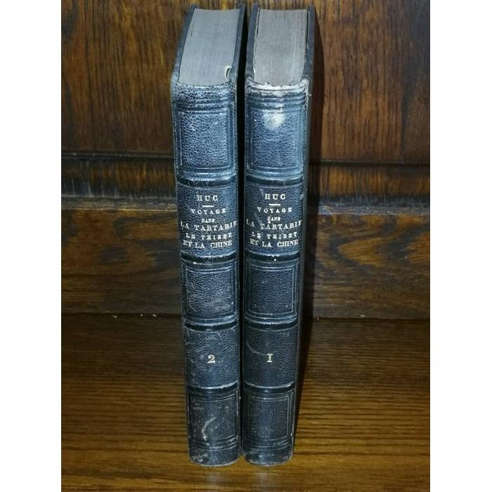 Souvenirs d'1 Voyage dans la tartarie le thibet et la chine pendant les années 1844 , 1845  et 1846  par M. Huc
